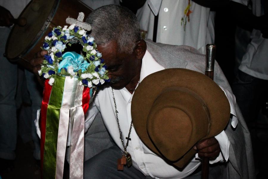 Ritual de Chegada - Terno de Fagundes | Foto de Anne Vilela