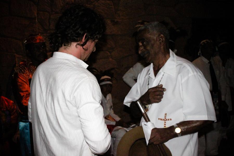 Terno de Moçambique de Perdões no X Encontro de Cuturas | Foto de Anne Vilela