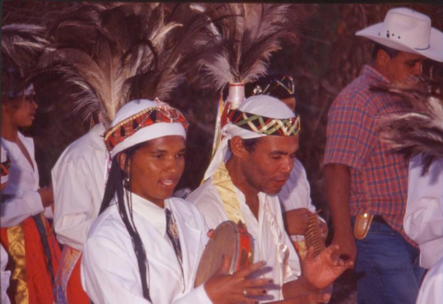 Congo de Niquelândia no II Encontro de Culturas | Foto de Arquivo ANCJ