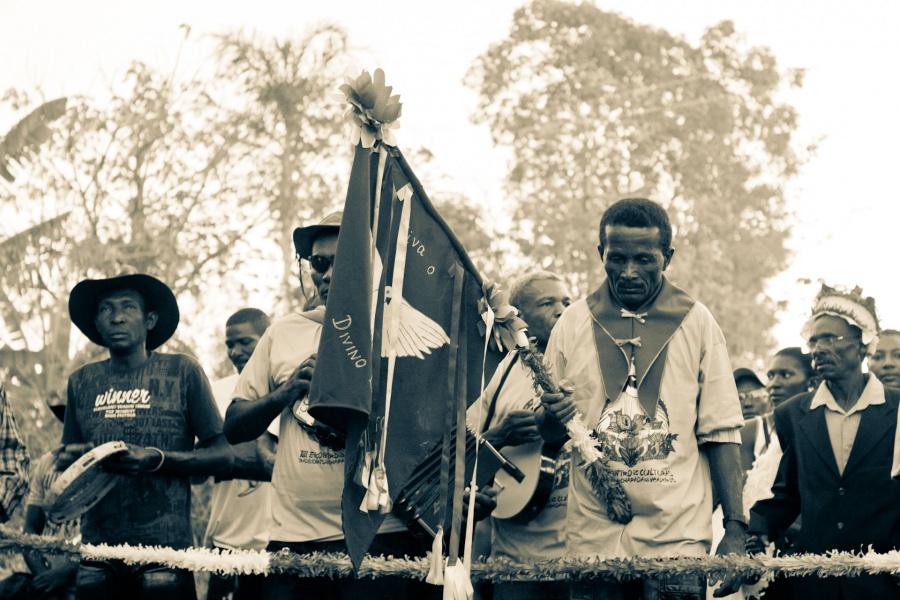 Império do Divino Espírito Santo da Comunidade Quilombola do Sítio Histórico Kalunga | Foto de Anne Vilela