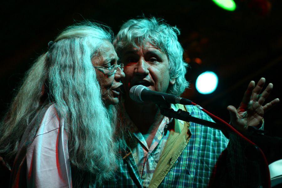 Doroty e Dércio Marques participam do show de Juraíldes da Cruz no VI Encontro de Culturas. | Foto de Marcelo Scaranari