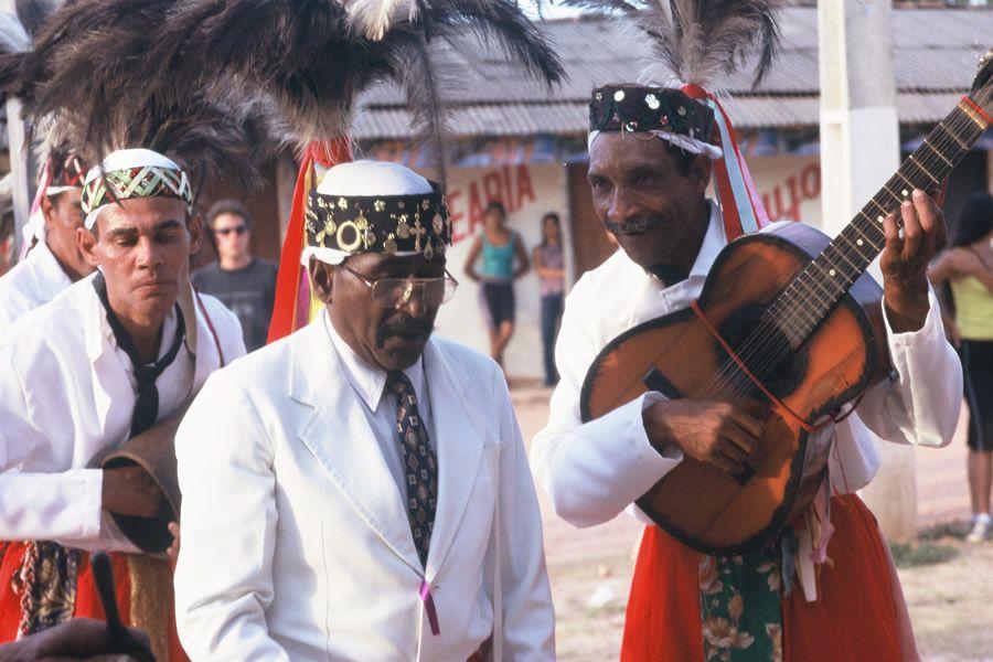 O Congo de Niquelândia é atração no III Encontro de Culturas Tradicionais da Chapada dos Vedeiros   Foto de Arquivo ANCJ